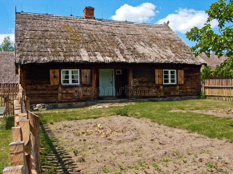 Altes Dorf in Polen lizenzfreie stockfotografie