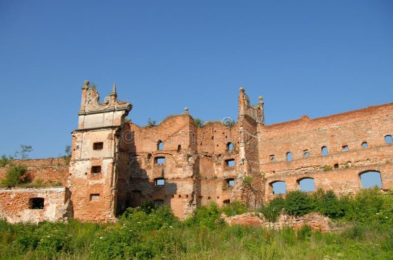 Altes Dorf Starren Selo Schloss, Lemberg-Region, Ukraine Schloss I lizenzfreies stockfoto