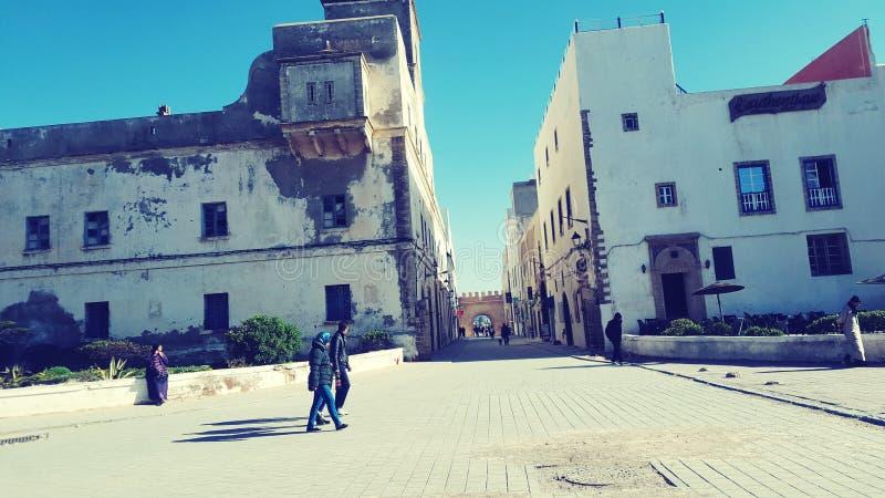 Altes Essaouira lizenzfreies stockfoto