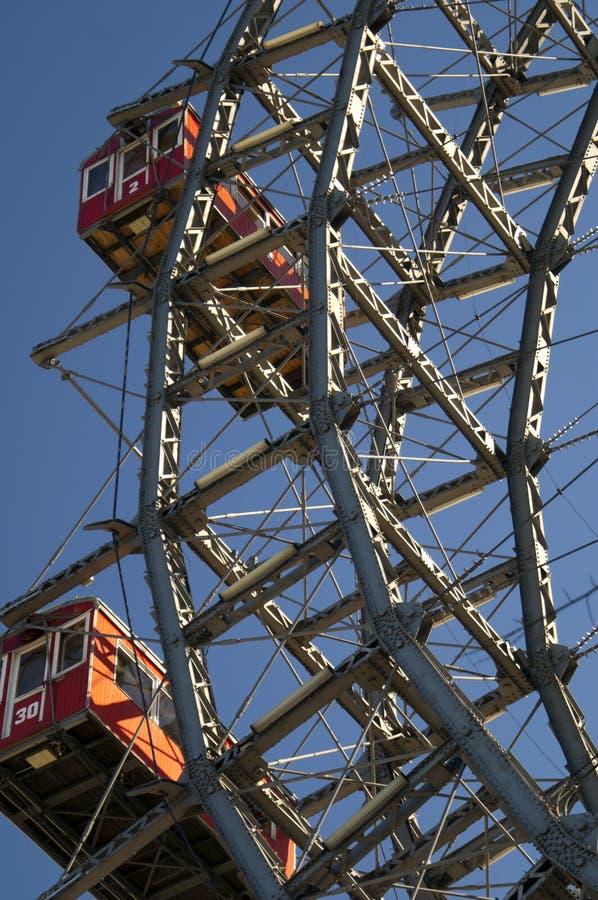 Altes Fähre-Rad stockbild