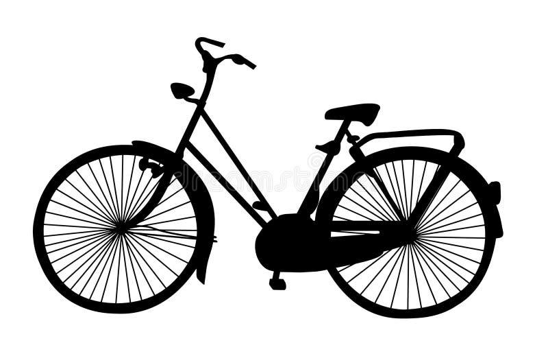 Altes Fahrrad vektor abbildung