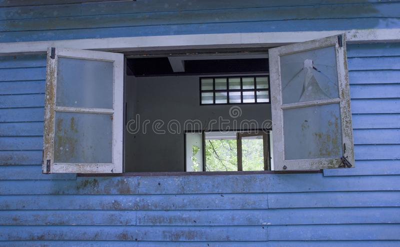 Altes Fenster stockfoto