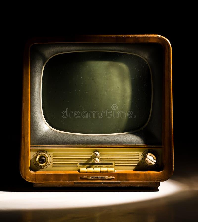 Altes Fernsehen lizenzfreies stockfoto