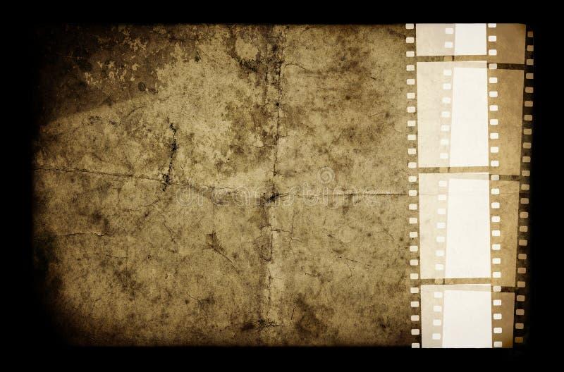 Altes Filmfeld stockbilder