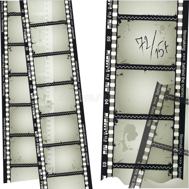 Altes filmstrip lizenzfreie abbildung