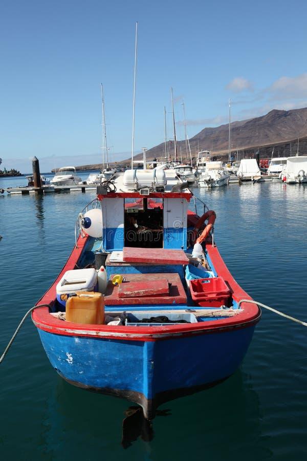 Altes Fischerboot stockfotografie