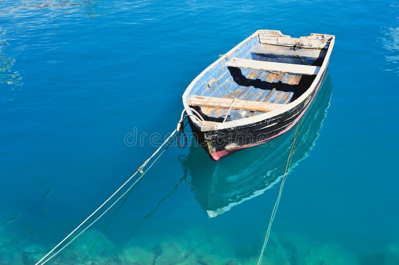 Altes Boot stockbild