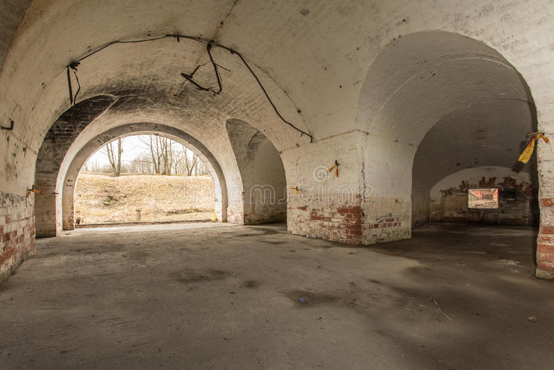 Altes Fort stockfoto