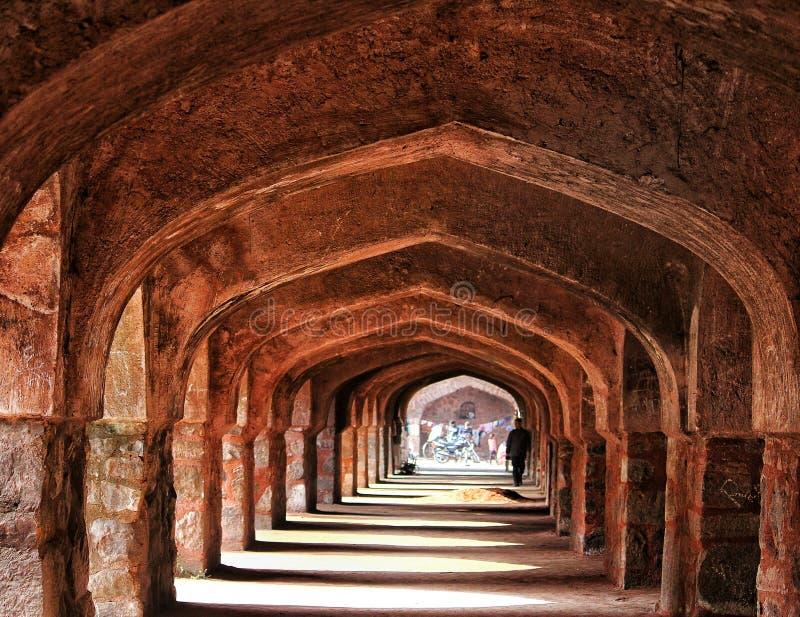 Altes Fort, Delhi lizenzfreies stockfoto