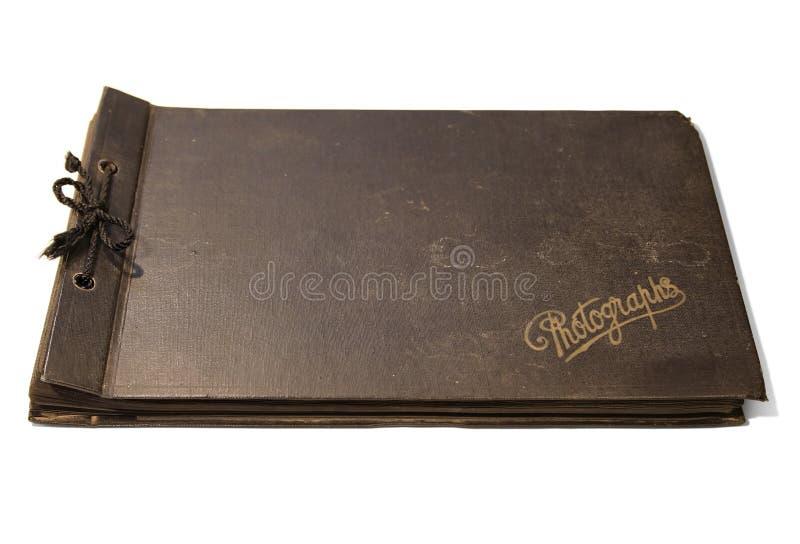 Altes Foto-Album stockfotografie