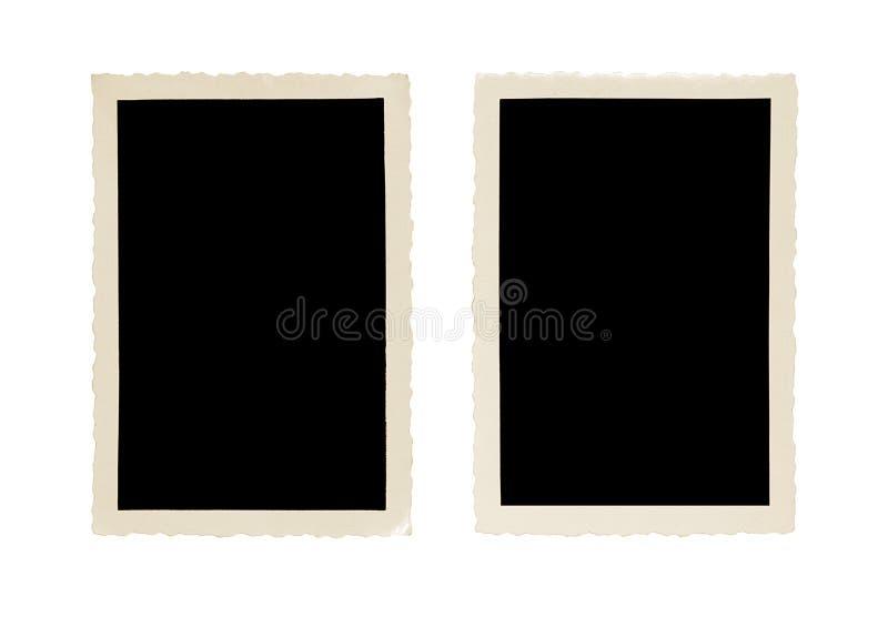 Altes Fotofeld lizenzfreie stockfotografie