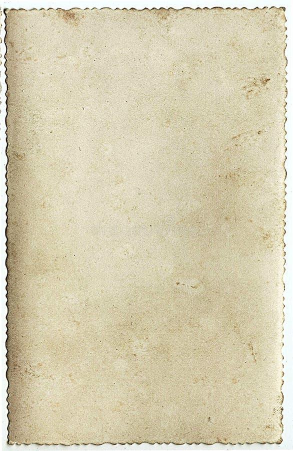Altes Fotopapier lizenzfreie stockbilder