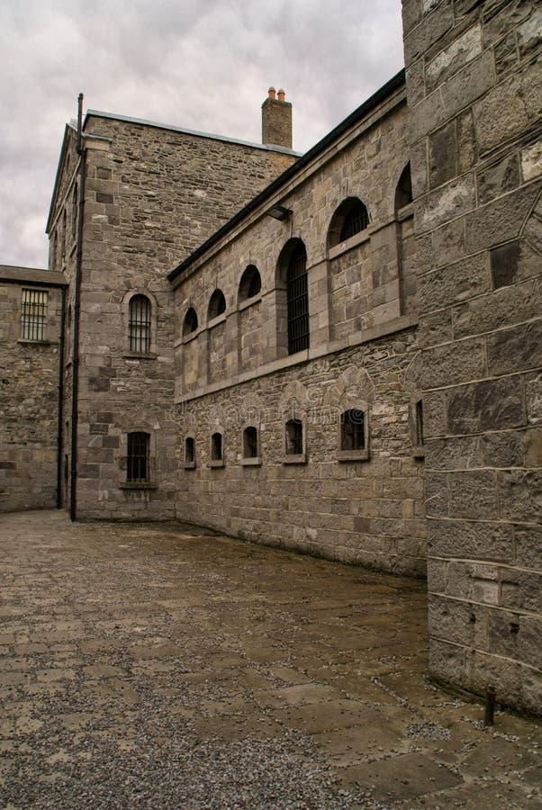 Altes Gefängnis-Äußeres stockbild