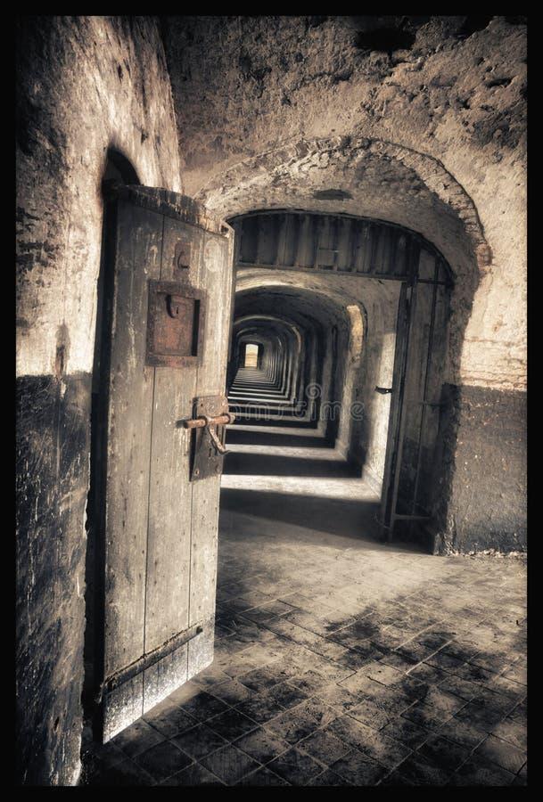 Altes Gefängnis lizenzfreies stockbild