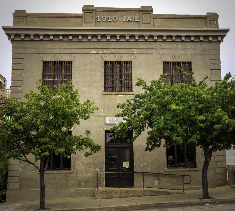 Altes Gefängnis in Globe Arizona lizenzfreies stockfoto
