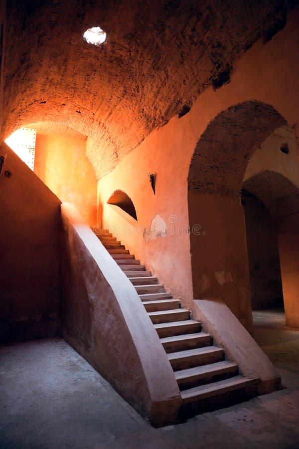Altes Gefängnis Meknes lizenzfreie stockbilder