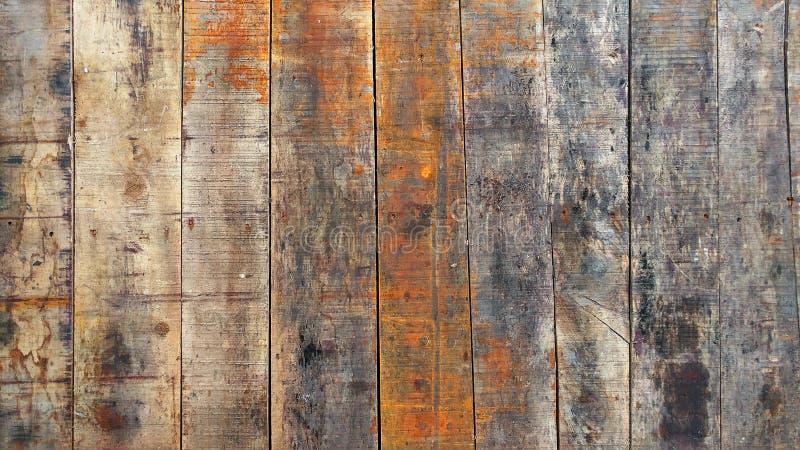 Altes gemaltes Holz des abstrakten Hintergrundes lizenzfreies stockfoto