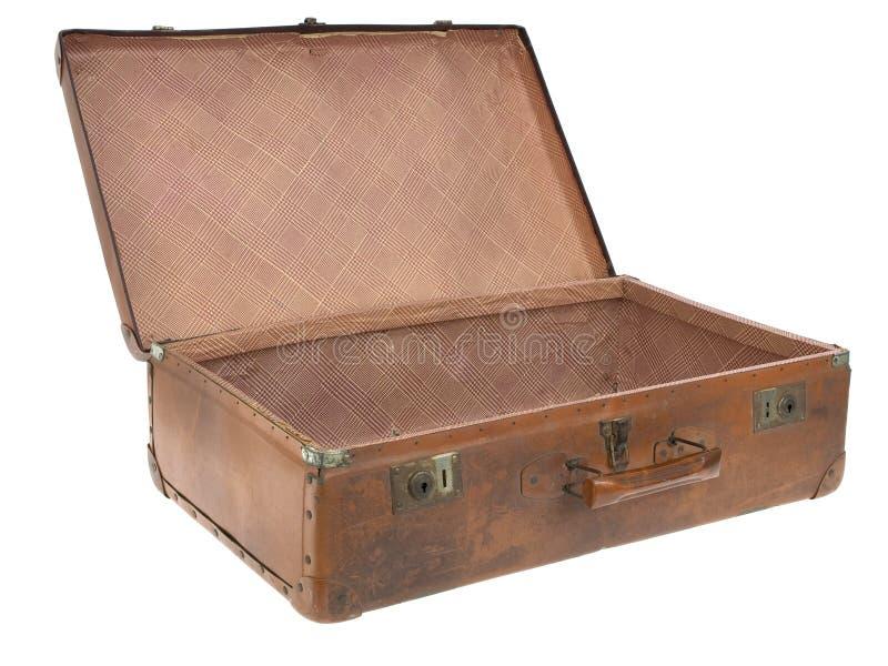 Altes Gepäck lizenzfreie stockbilder