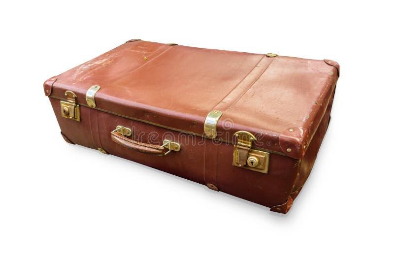 Altes Gepäck lizenzfreies stockbild