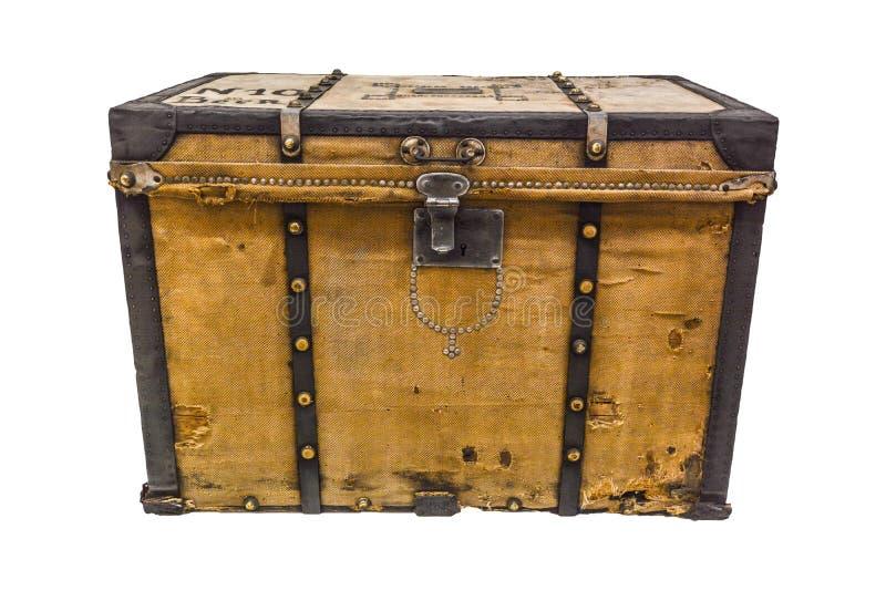 Altes Gepäck der Weinlese lizenzfreies stockfoto