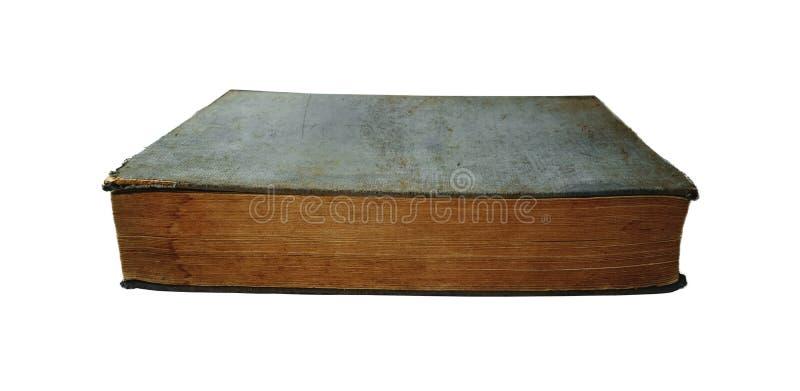 Altes geschlossenes Buch lizenzfreie stockfotos