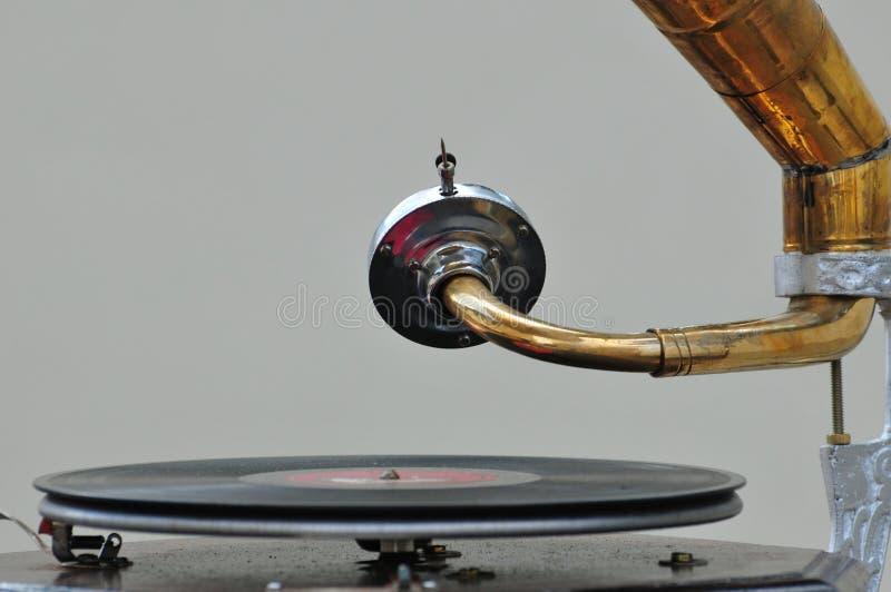 Altes Grammophon stockfotos