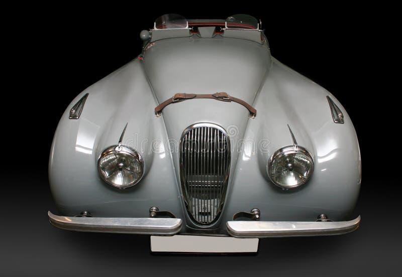 Altes graues glänzendes Auto stockbild