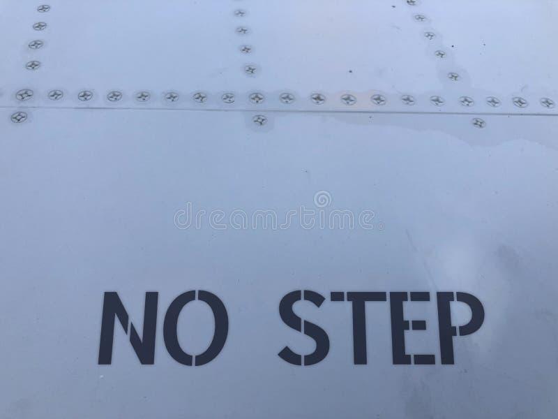 Altes graues glänzendes verkratztes Flugzeugblech lizenzfreies stockbild