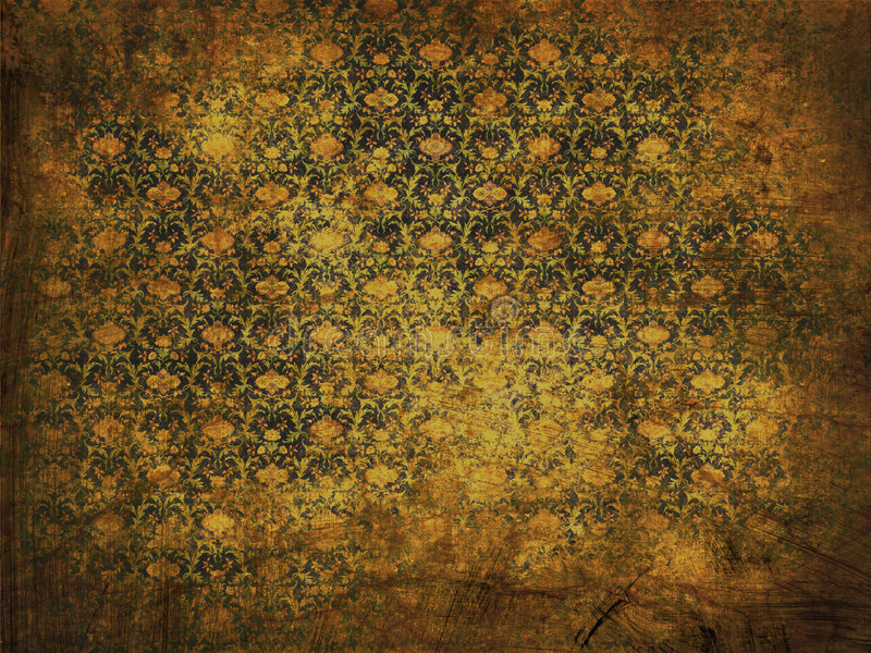Altes grunge Blumenhintergrund lizenzfreies stockbild