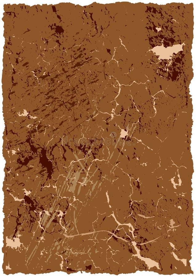 Altes grunge und rostiger Hintergrund stock abbildung