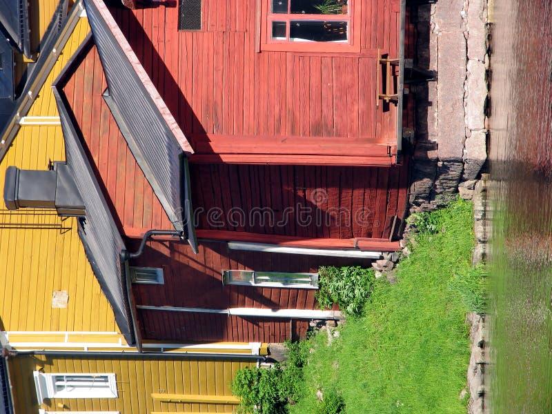 Altes Hölzernes Haus Lizenzfreies Stockfoto