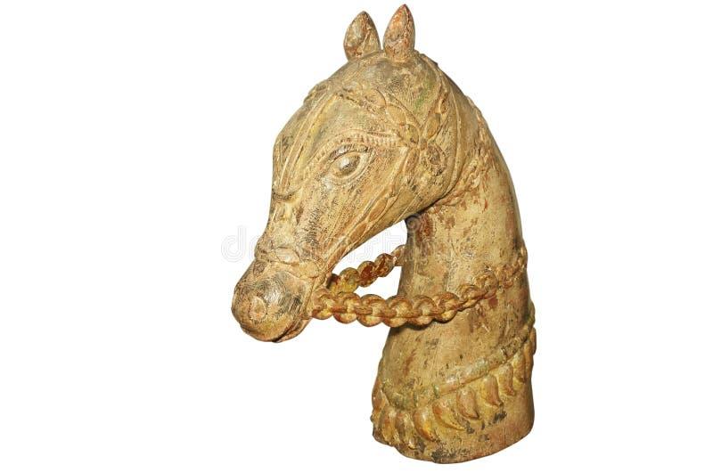 Altes hölzernes Pferd lizenzfreie stockfotos