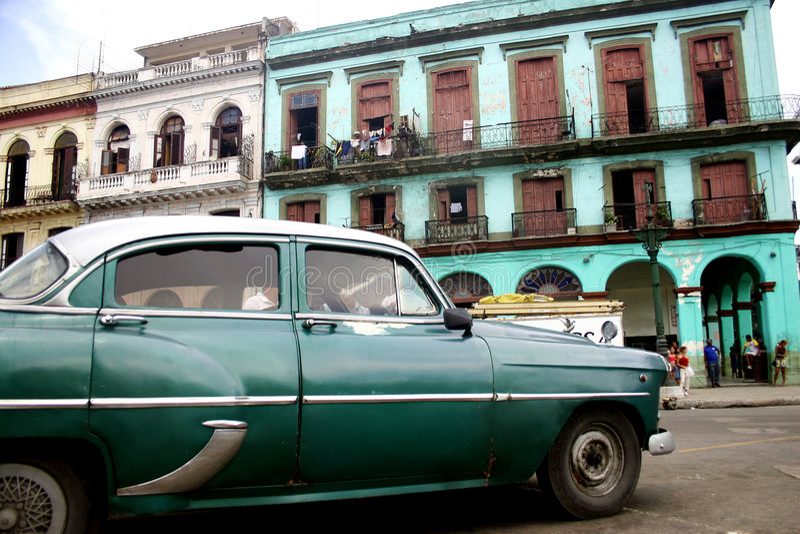 Altes Habana lizenzfreies stockfoto