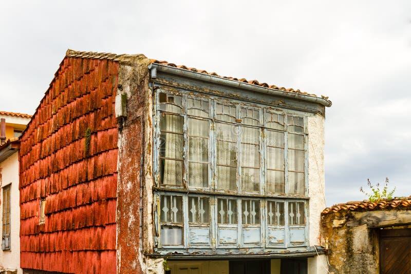 Altes Haus Asturien lizenzfreie stockfotos