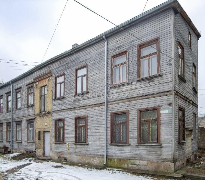 Altes Haus der Verminderung lizenzfreies stockbild