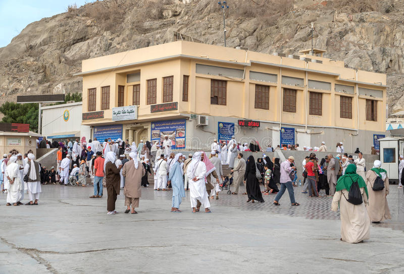 Altes Haus des Prophets Mohammed Pbuh stockfotografie