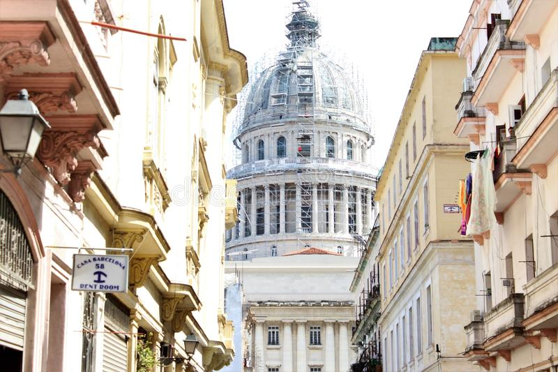 Altes Havana lizenzfreies stockbild