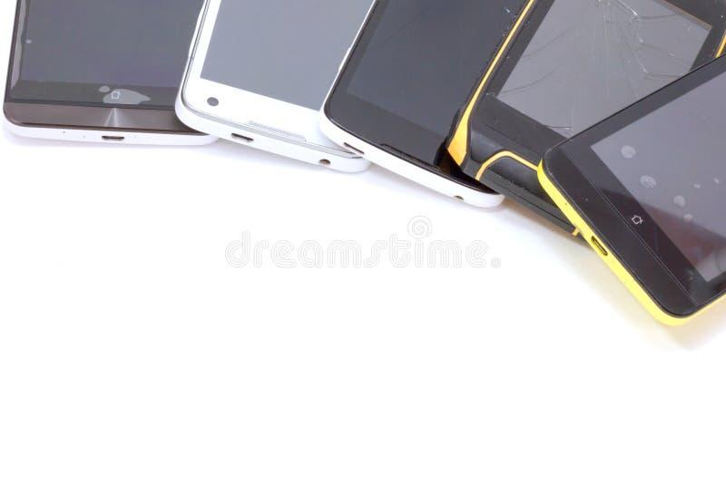 Altes intelligentes Telefon lizenzfreie stockbilder
