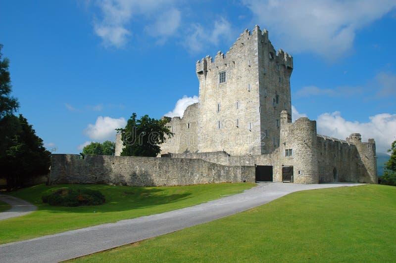 Altes irisches Schloss stockfoto