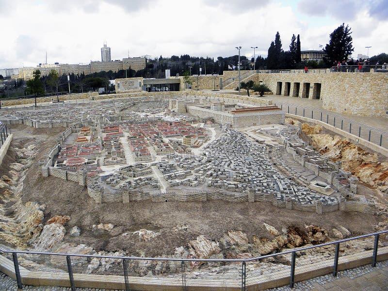 Altes Jerusalem lizenzfreie stockbilder