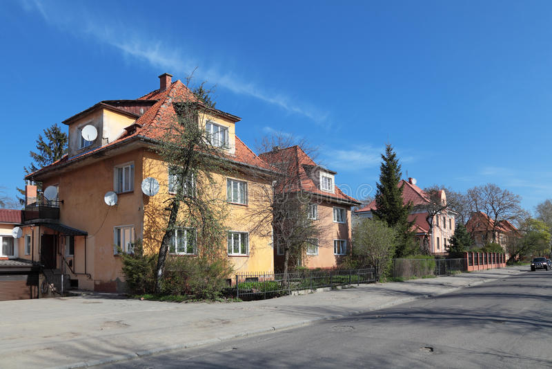 Altes Kaliningrad lizenzfreie stockfotografie