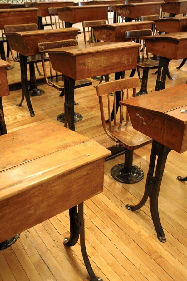 Altes Klassenzimmer 1 stockbild