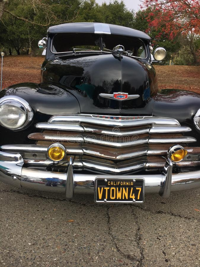 Altes klassisches amerikanisches Auto stockbild