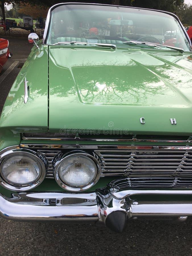 Altes klassisches amerikanisches Auto stockfoto