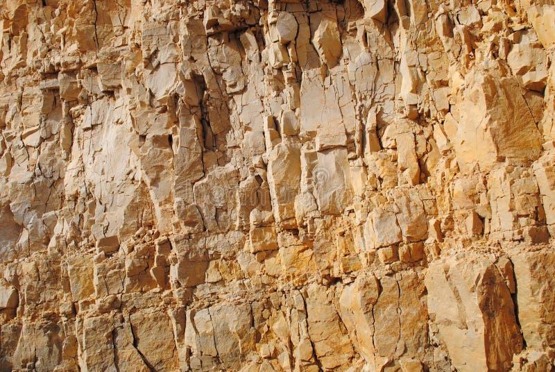 Altes Kloster in Jericho die Wand lizenzfreie stockfotos