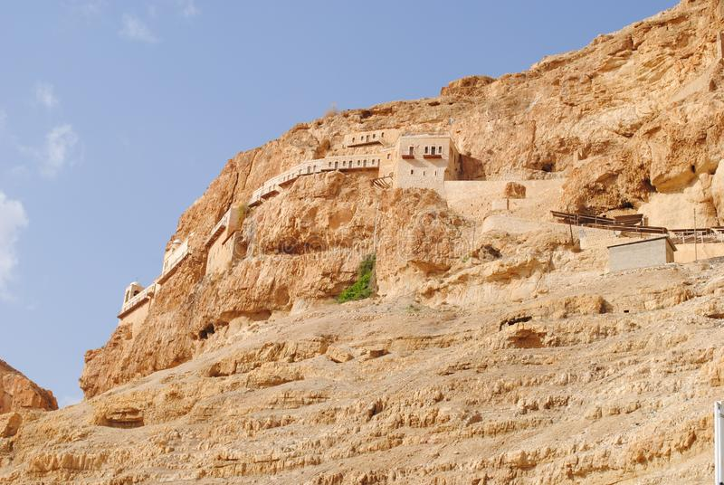 Altes Kloster in Jericho lizenzfreie stockfotografie