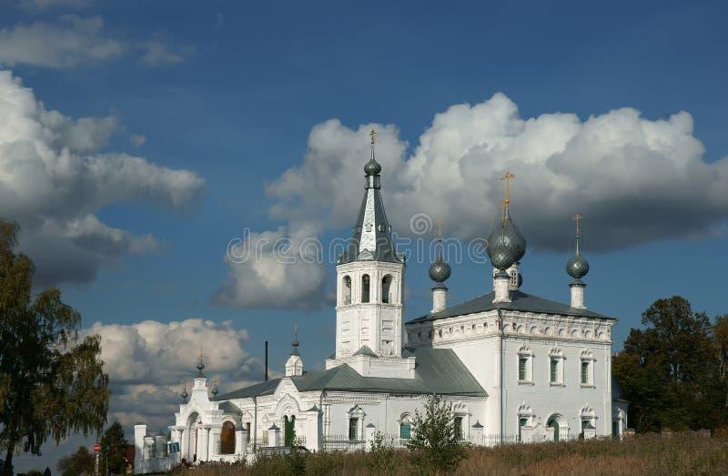 Altes Kloster in Russland. stockfotografie