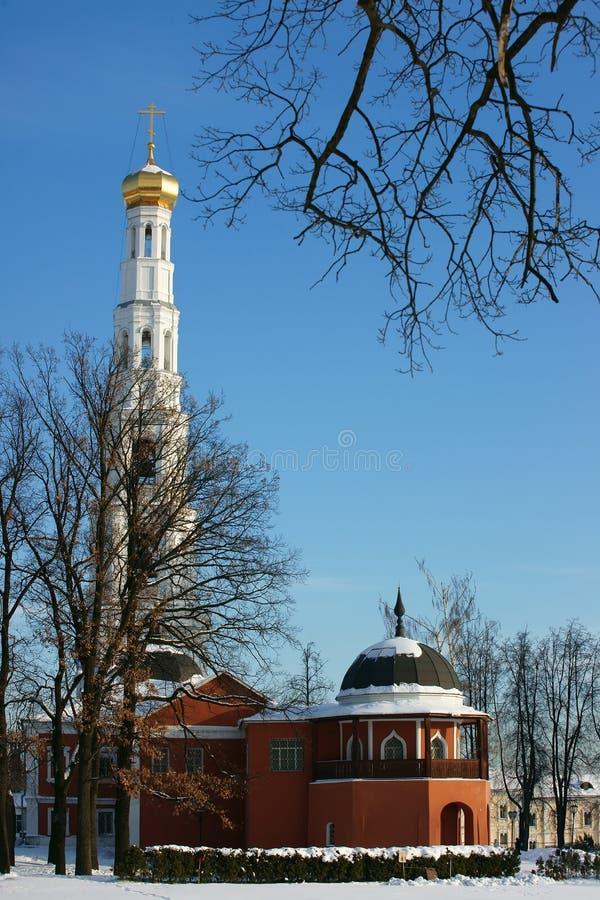 Altes Kloster in Russland. lizenzfreie stockfotografie