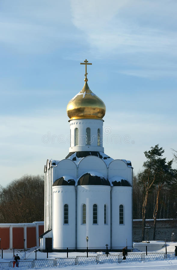 Altes Kloster in Russland. stockfoto