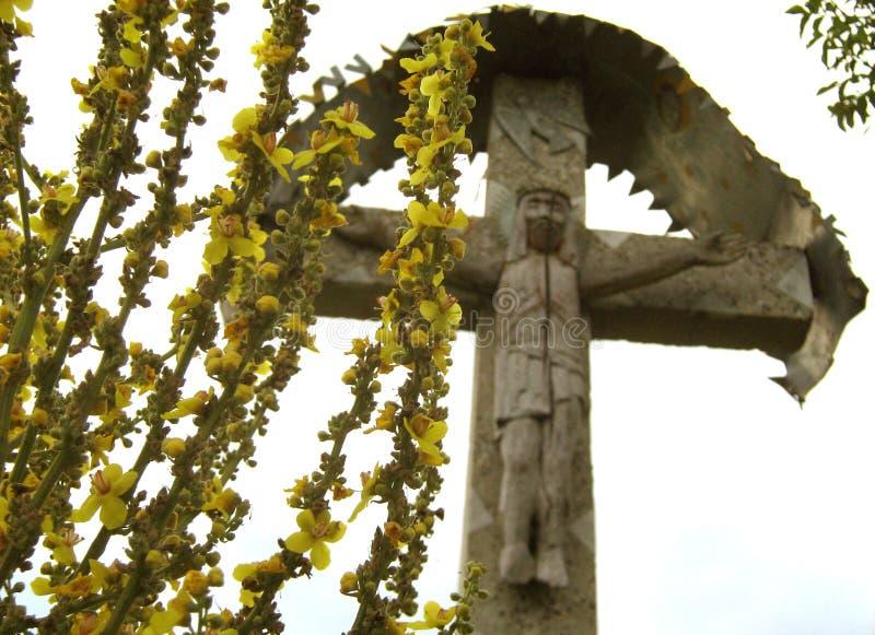 Altes Kreuz stockfotografie